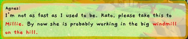 Example dialogue box - Kato
